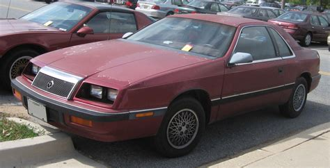 87 Chrysler Lebaron by Chrysler Le Baron 1987