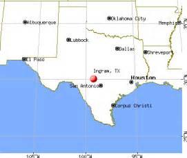 ingram tx 78025 78028 profile population maps