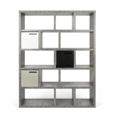 etagere 150 cm temahome 201 tag 232 re biblioth 232 que quot berlin quot 5 niveaux 150cm b 233 ton