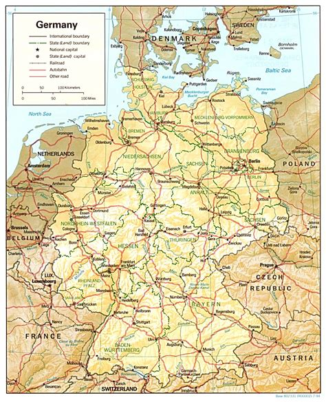 map of germany map of germany a source for all kinds of maps of germany