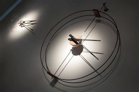 spatially telling time modern architecture inspired clock modern and cool wall clocks that favor looks without