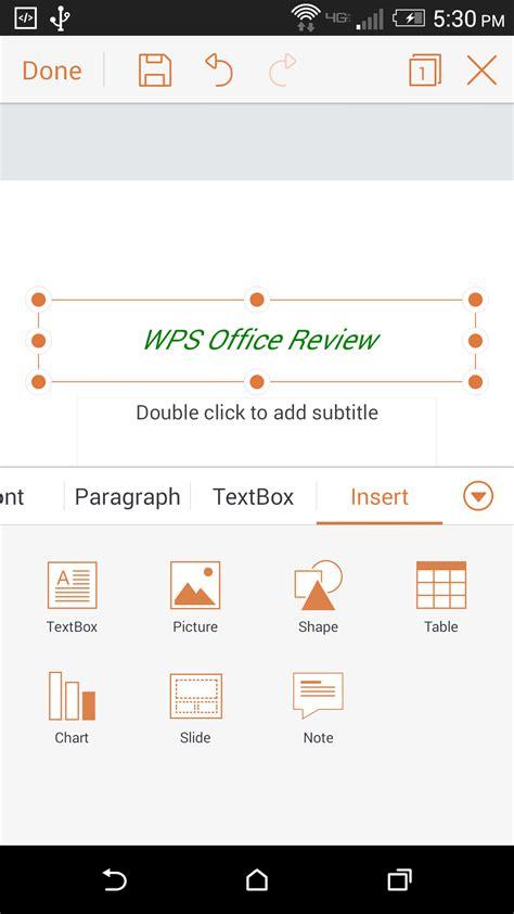 Wps Office App by App Review Wps Office Is Kingsoft S Beautifully
