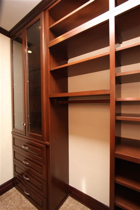 Custom Wood Closet by Custom Wood Closets Traditional Closet Orange County