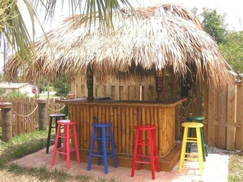 Tiki Bar Hut For by Build A Tiki Hut For Summertime Vibe Wearefound Home Design