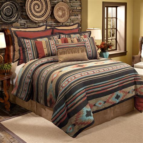 santa fe bedding veratex santa fe 4 piece comforter set contemporary