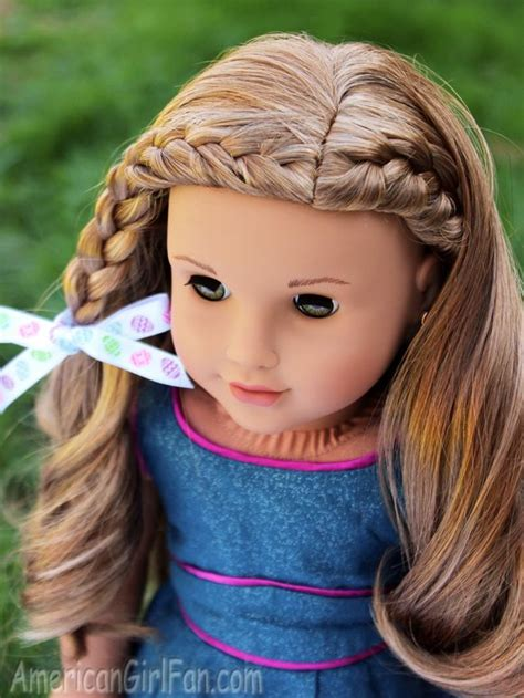 Doll Hairstyles Tutorial by Braided Doll Hairstyle For Easter Click Through For