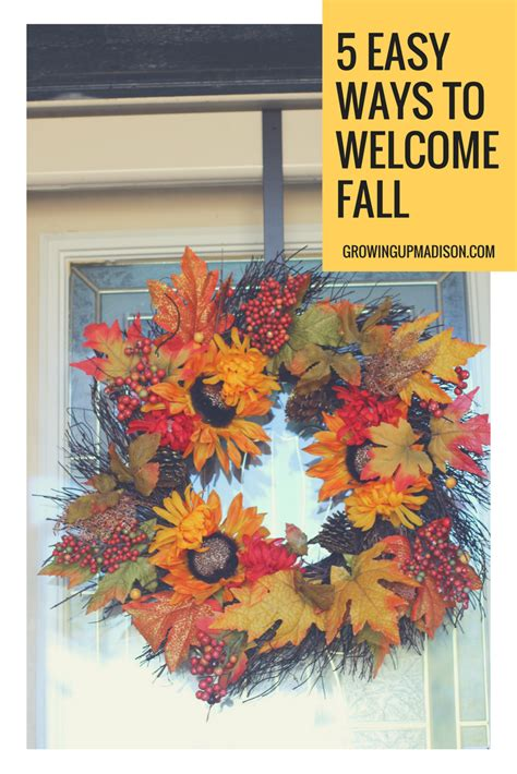 5 Ways To Welcome by 5 Easy Ways To Welcome Fall Fallreset Annmarie