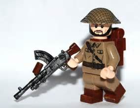 Brickarms bren light machine gun custom lego minifigures