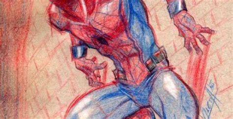 imagenes de spiderman para dibujar a lapiz 100 free dibujo de spiderman a lapiz on coloringandewe