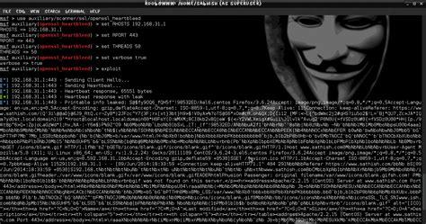 heartbleed tutorial hack exploit heartbleed openssl vulnerability using kali linux