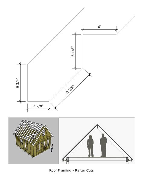 Tiny House Loft Height by Pioneer S Cabin 16 215 20 V2 Rafter Cuts And Loft Height