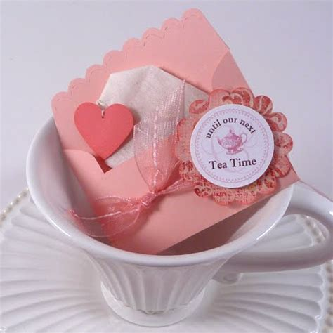 Handmade Favors - tea favor ideas myideasbedroom