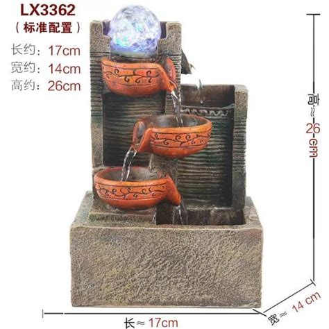 polyresin tabletop fountain feng shui home pinterest feng shui table top water fountain lx3362 home decoration