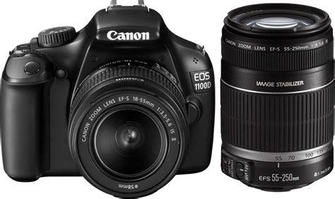 Kamera Dslr Canon Eos 1100d Lensa Kit 18 55mm canon eos 1100d slr with kit ef s 18 55mm is ii ef