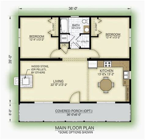 2 bedroom cottage floor plans best 25 2 bedroom house plans ideas that you will like on
