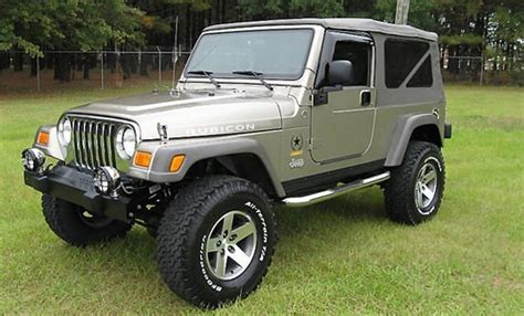 2005 Jeep Tj Unlimited 2005 Jeep Wrangler Unlimited Rubicon Jeep Colors