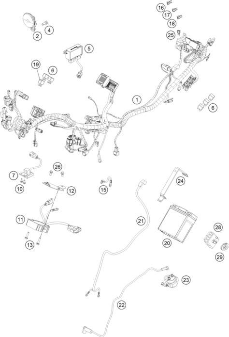 Ktm Spareparts Ktm Fiche Finder Wiring Harness Spare Parts For The Ktm