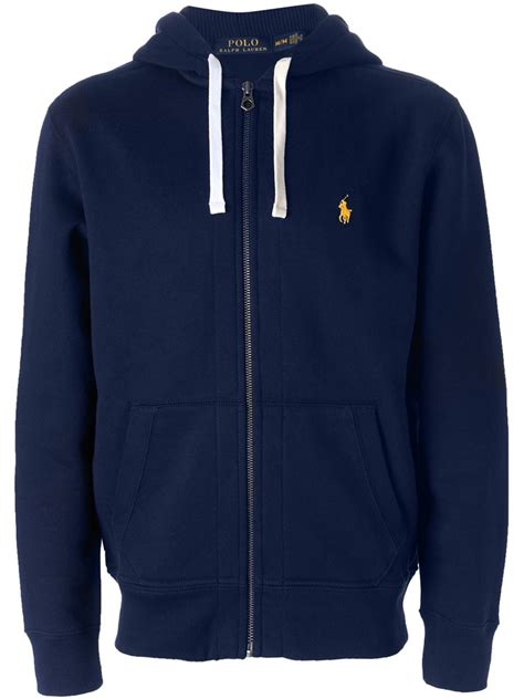 Polos Zip Hoodie marein ralph polo zip up hoodie