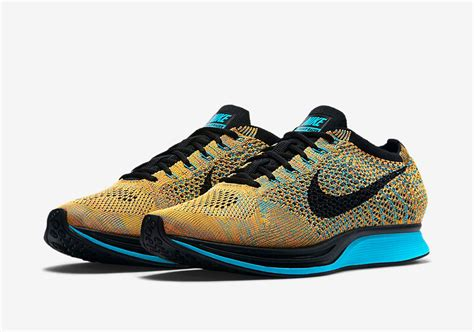 Sepatu Premium Nike Flyknit Racer Blue Lagoon nike flyknit racer bright citrus aura central administration services