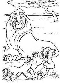 Baby Lion Coloring Pages » Home Design 2017