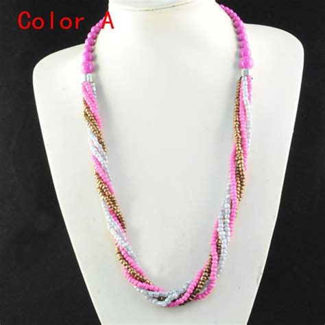 bead necklace designs buy wholesale seed bead necklace designs from china