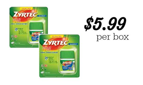 printable zyrtec coupon 5 off zyrtec coupon makes it 5 99 at publix