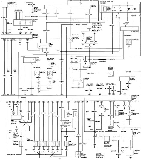 97 ford explorer headlight switch wiring diagram wiring
