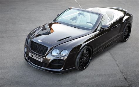 bentley tuning prior design bentley continental gtc car tuning