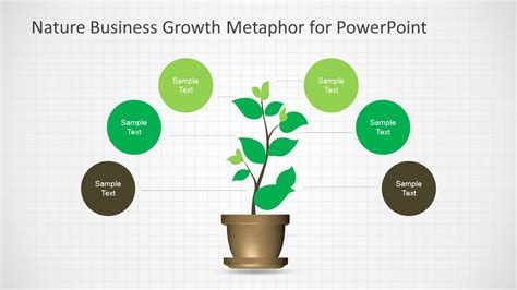 ppt templates for growth nature business growth metaphor template for powerpoint
