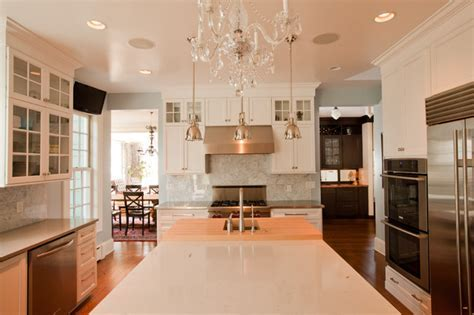 Transitional Glam Kitchen   Traditional   Kitchen