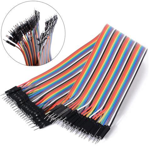 Kabel Jumper 20cm 40pin Ff Mf Mm 20cm dupont draht kabel linie wire jumper breadboard arduino te461 ebay