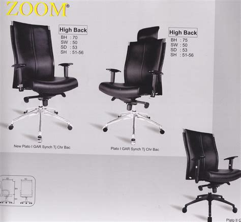 Kursi Kantor Merk Zoom karya mandiri furniture kursi kantor zoom