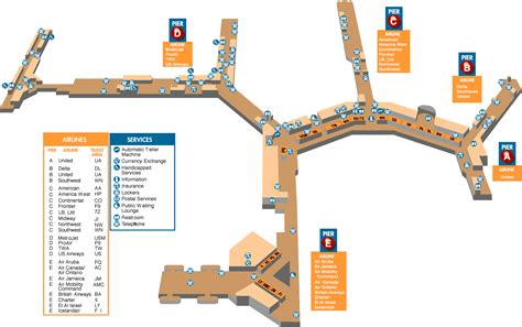 bwi terminal map baltimore washington airport map washington dc map