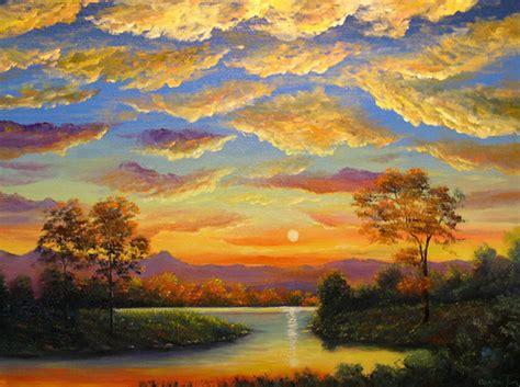 Beautiful Landscape Paintings Canvas Beautiful Beautiful Landscape Paintings