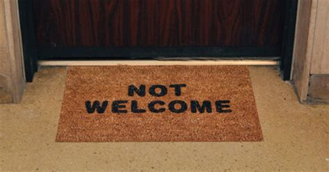 Home Welcoming Gifts Not Welcome Mat Epromos Promotional Blog