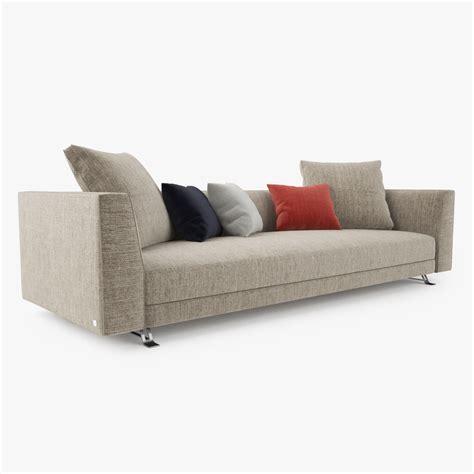 busnelli sofa busnelli burton sofa collection 3d model max obj fbx