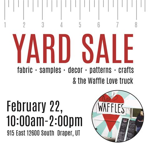 Advertise Garage Sale For Free by Yard Sale On February 22