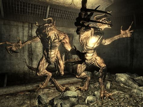 fallout 3 deathclaw alpha such spook so scare gaming monsters wow buygamecredit