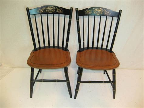 hitchcock chair co black harvest stonington side chairs