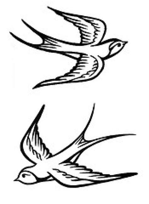 outline bird tattoo designs birds tattoos for you sparrow bird tattoos designs