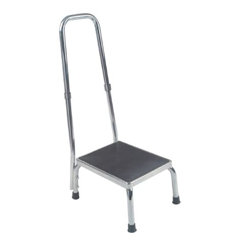 equipment step stool handrail step stool with handrail fixed height 13031 1sv
