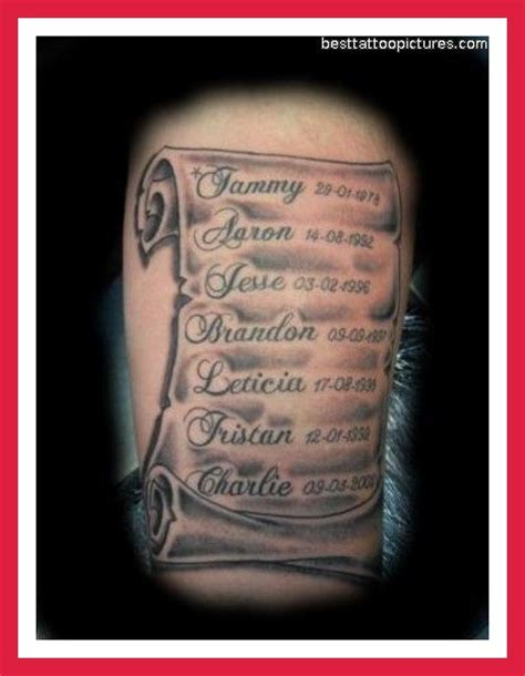 scroll writing tattoo designs scroll tattoos with designs ideas