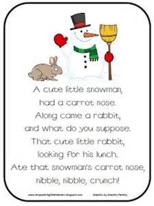 The Christmas Pickle Ornament - classroom freebies snowman poem freebie