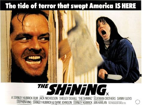 jack nicholson the shining movie the shining movie poster horror stephen king stanley