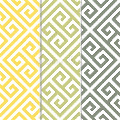 passport background pattern vector seamless greek key background pattern in three color