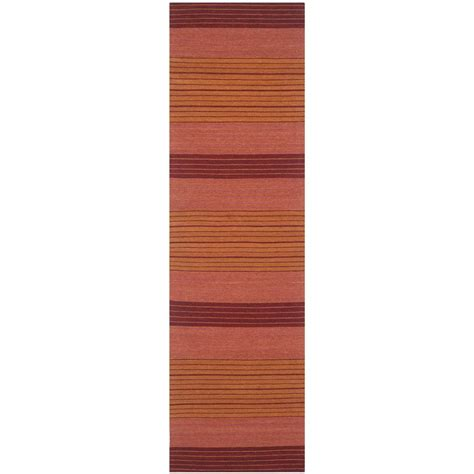 8 foot runner rug safavieh marbella rust 2 ft 3 in x 8 ft runner rug mrb285a 28 the home depot