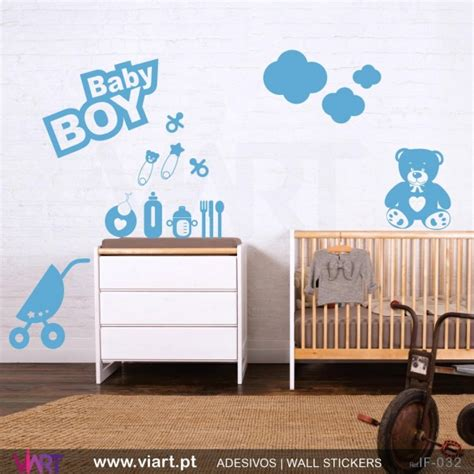 boy wall stickers baby boy nursery wall stickers peenmedia