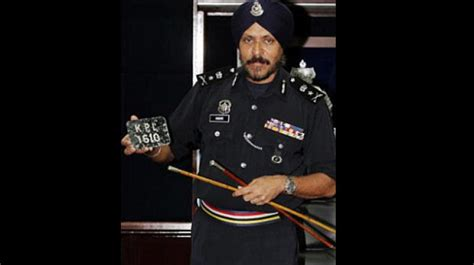 what is the highest rank achieved by a indian origin sikh appointed kuala lumpur commissioner