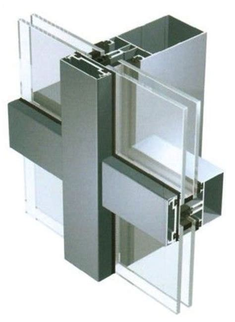 curtain wall residential 6063 aluminum curtain walling systems for residential