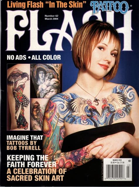 tattoo flash 62 march 2004 by tattoo magazine articles